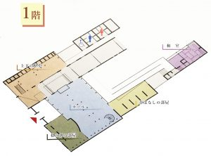上下歴史文化資料館1階平面図