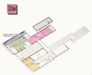 上下歴史文化資料館2階