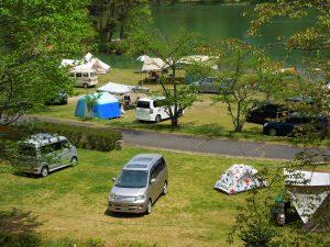 羽高湖キャンプ場